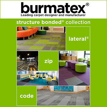 burmatex structure bonded carpet tiles brochure