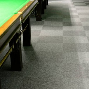 tivoli carpet tiles at Snooker Centre Norwich