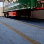 structure bonded carpet tiles at Eddie Stobart Training Centre