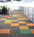 structure bonded contract carpet tiles