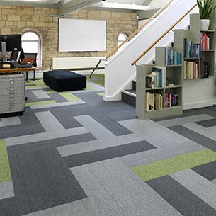 Office Grade Tivoli Carpet Planks 305